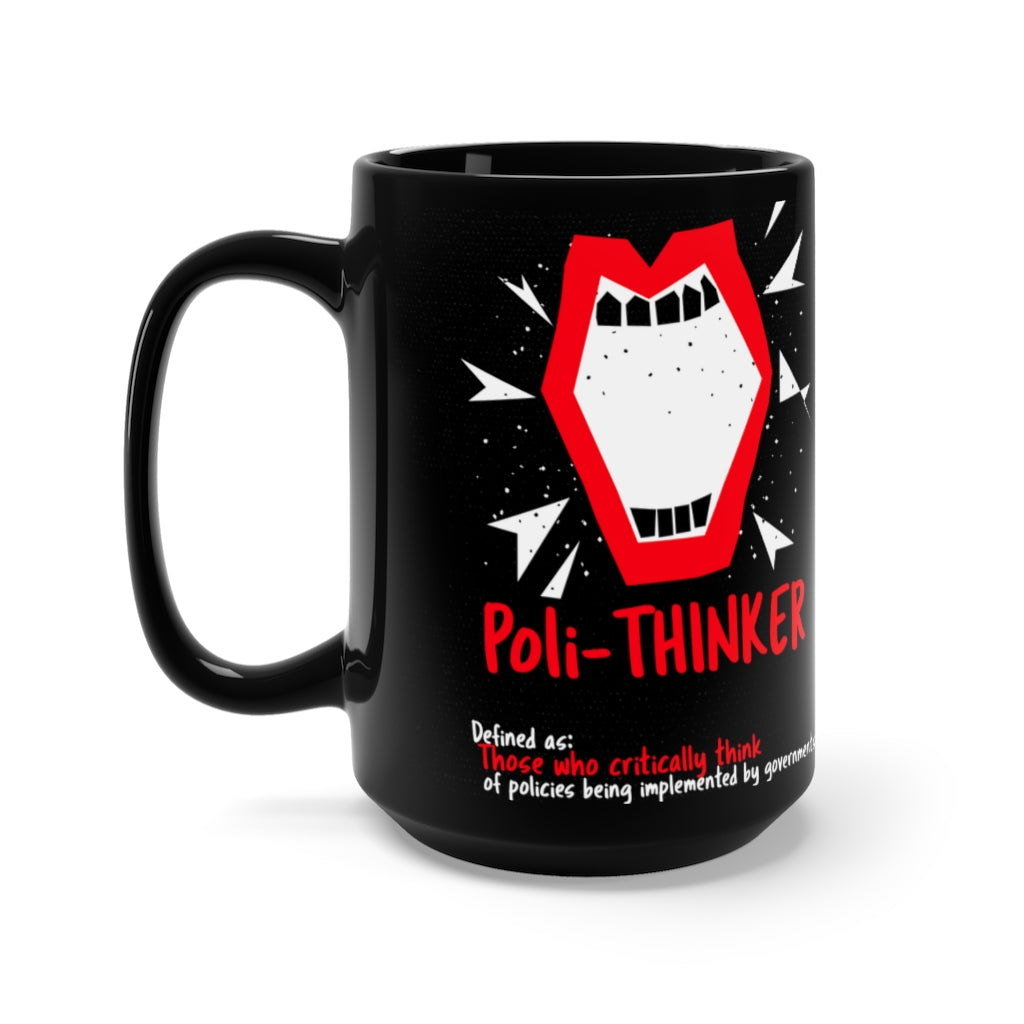 UNP & BIG MOUTH Red Lip Rebel Mug