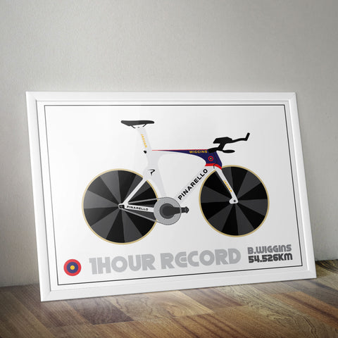 Wiggin's Hour Record TT Bike