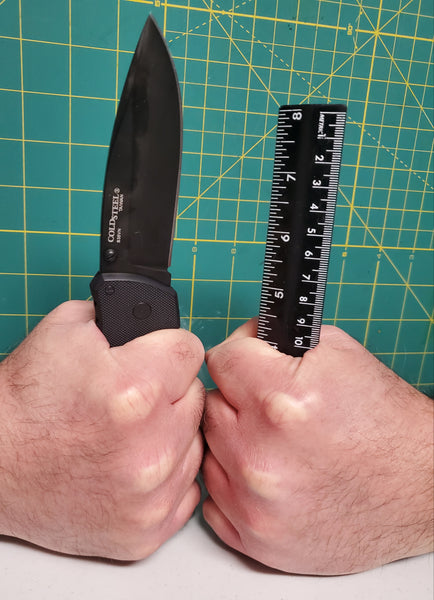 HOW TO MEASURE A KNIFE HANDLE TO FIT YOUR HAND