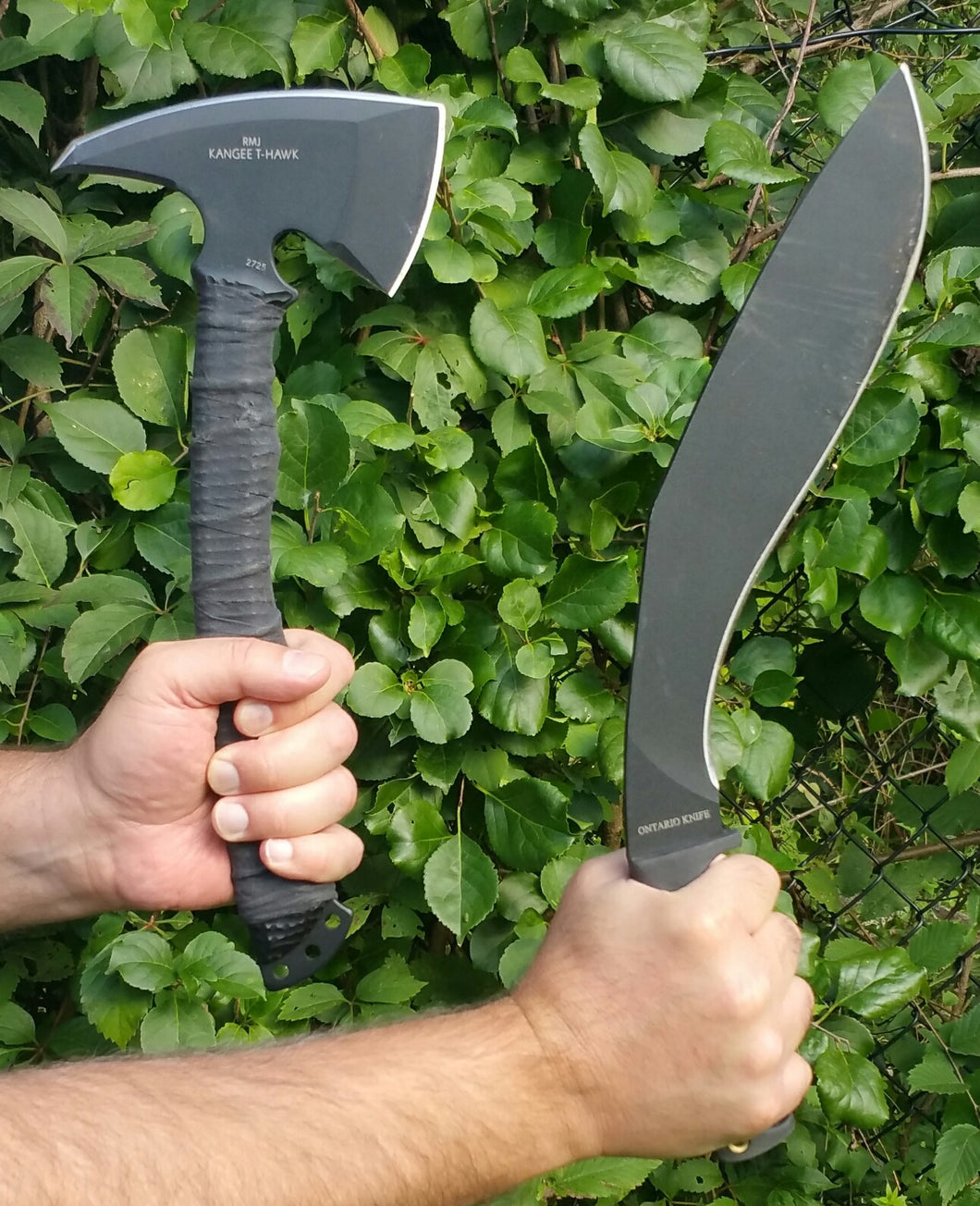 KUKRI AND TACTICAL TOMAHAWK VIDEO
