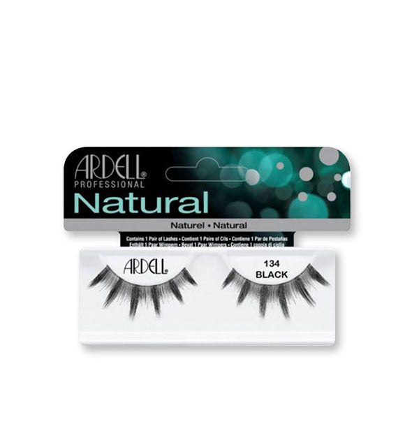 Black Natural Lashes #134