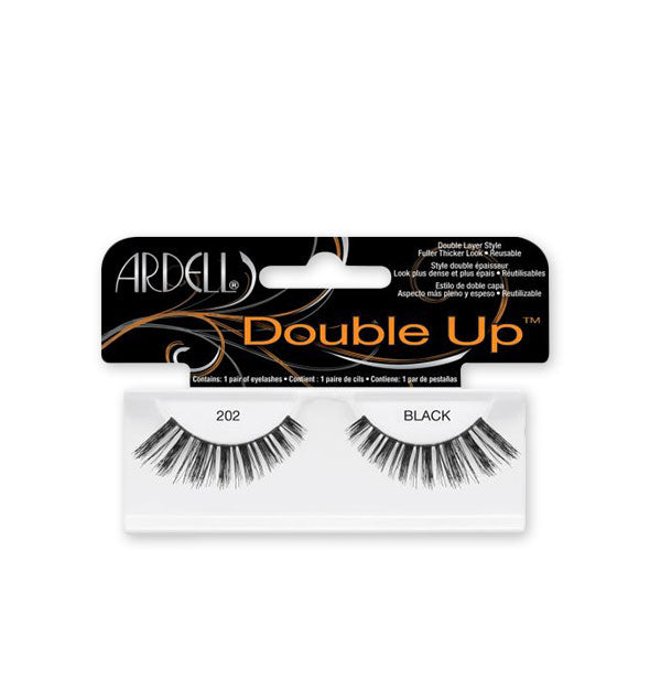 Black Double Up Lashes #202