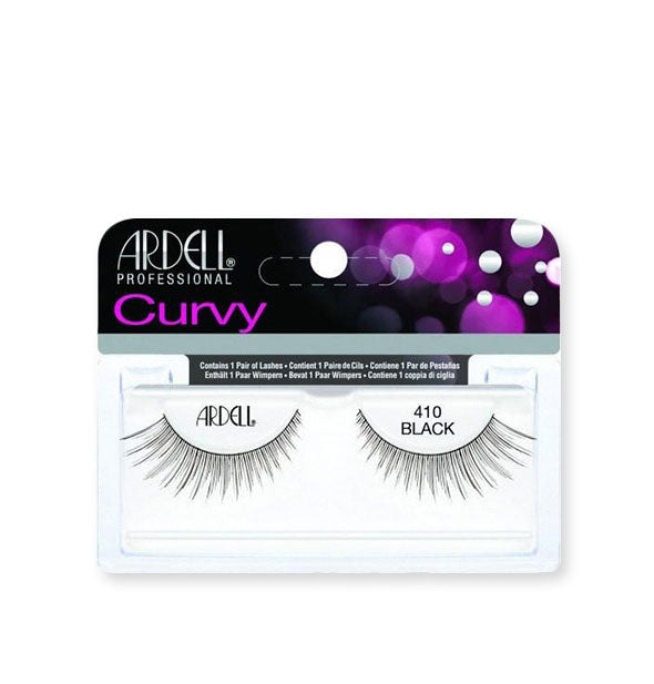 Black Curvy Lashes #410