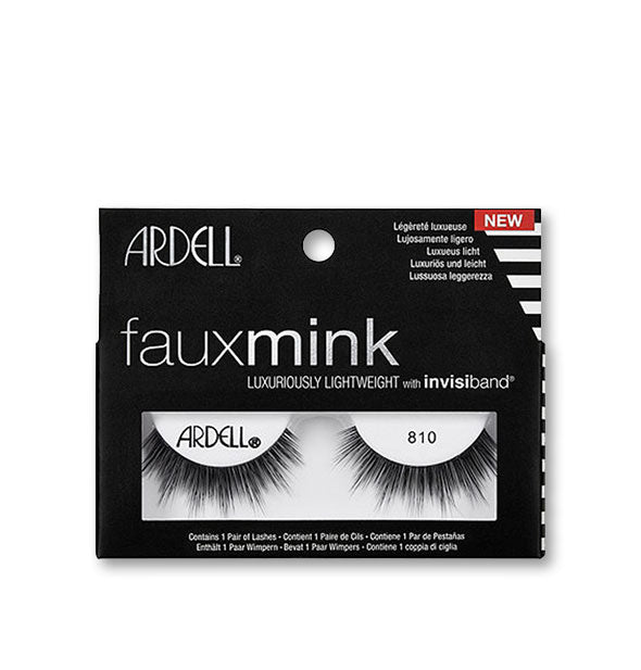 Black Faux Mink Lashes #810