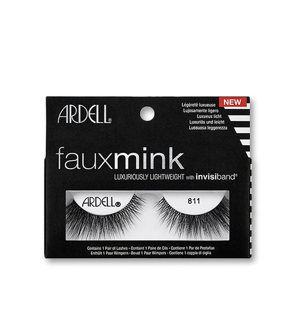 Black Faux Mink Lashes #811