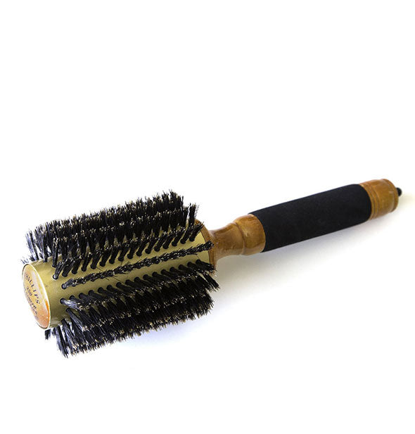 Phillips 350 Hot Curler Gold Series hairbrush with 100% pure boar bristles shown at 3-inch size.