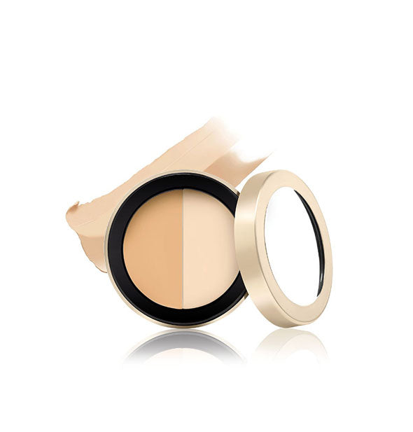 Circle Delete Concealer two shades yellow