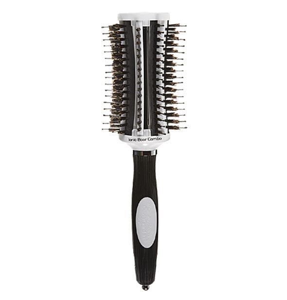 Olivia Garden ThermoActive Ionic Boar Combo Brush 2-1/2 inches.
