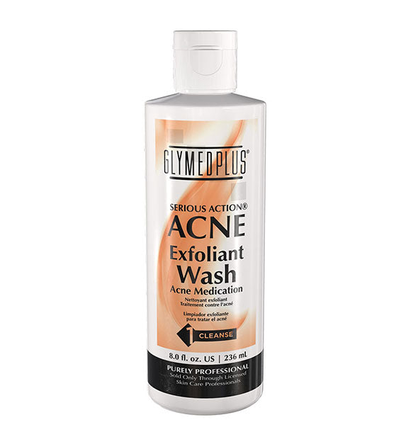 Serious Action Acne Exfoliant Wash