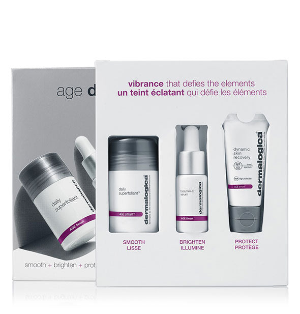 Contents of the Dermalogica Age Defense kit