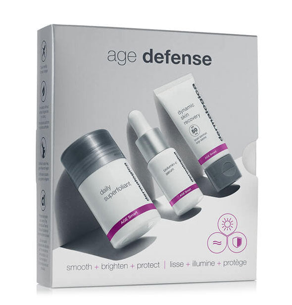 Box kit of Dermalogica Age Defense products.