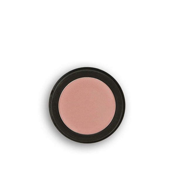Light pinkish-brown pressed powder eyeshadow