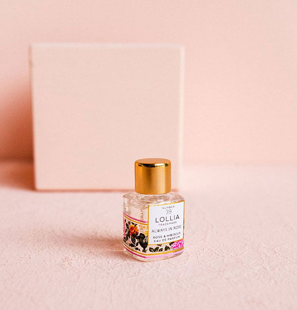 rose and hibiscus parfum mini