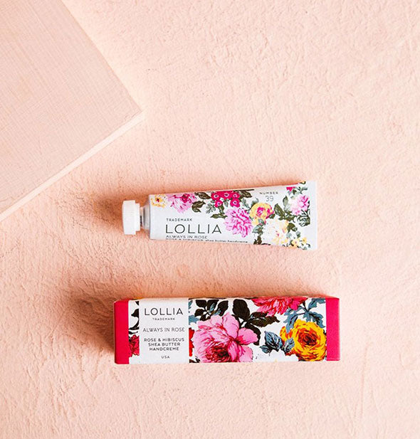 Lollia - Always In Rose Shea Butter Handcreme (4515698737222)