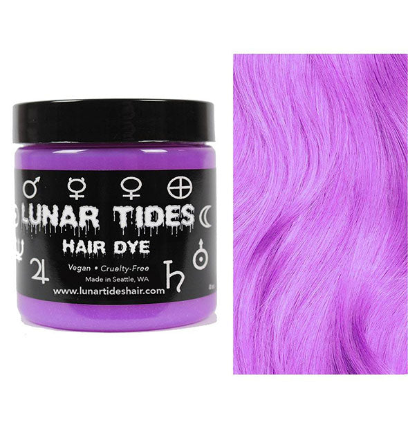 semi permanent hair dye in amethyst