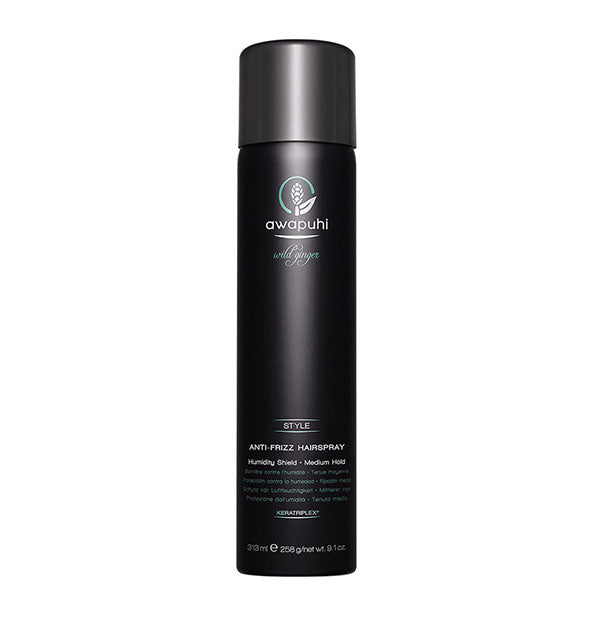 9.1 ounce can of Paul Mitchell Awapuhi Wild Ginger Anti-Frizz Hairspray
