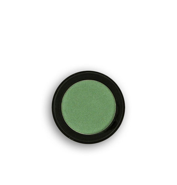 Green pressed powder eyeshadow