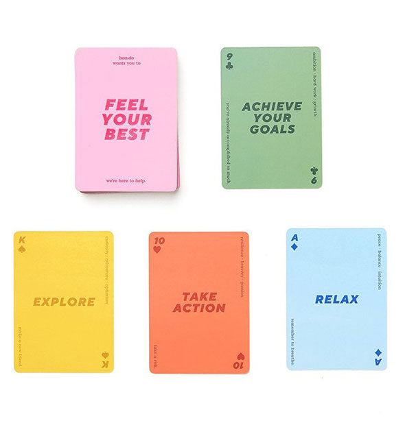 Positive Affirmations cards