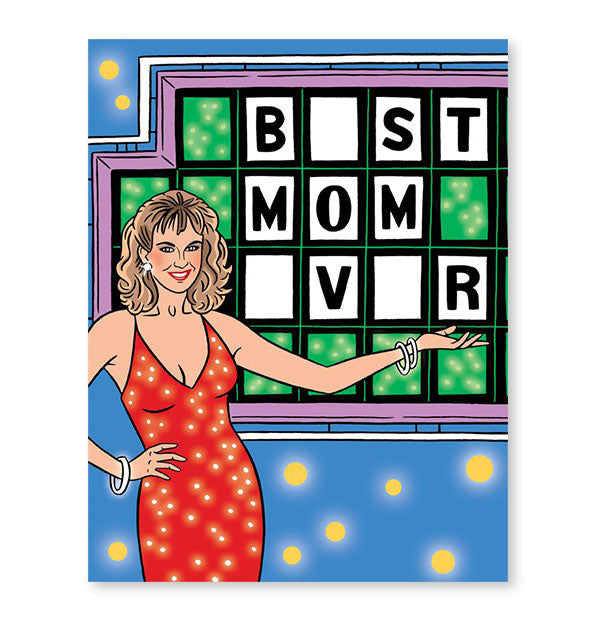 The Wheel Of Fortune Vanna White Best Mom Ever Card