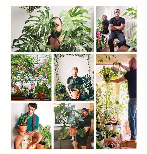 Inside spread of Boys With Plants