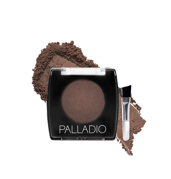 A compact of Palladio Brow Powder in the shade Brown.