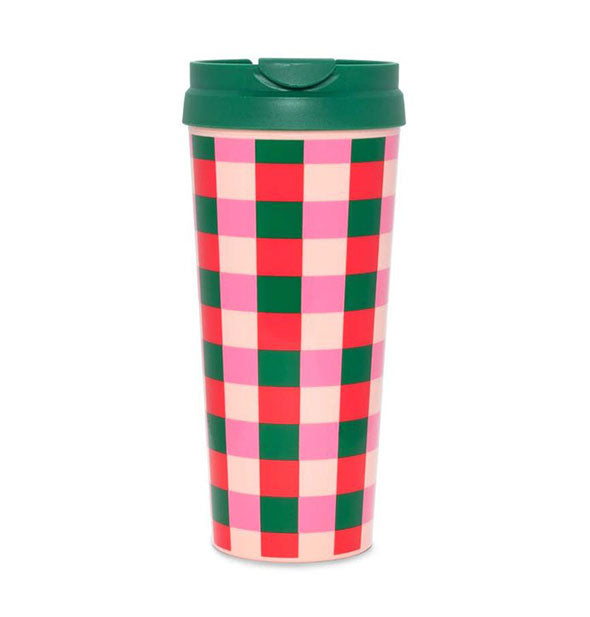 ban.do - Hot Stuff Thermal Mug Buffalo Plaid