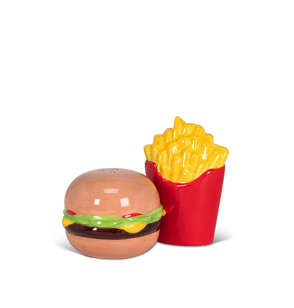 Abbott - Burger And Fries Salt And Pepper Shakers