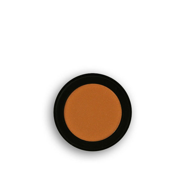 Warm brown pressed powder eyeshadow