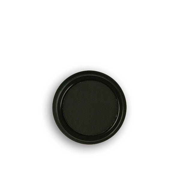 Dark charcoal gray pressed powder eyeshadow