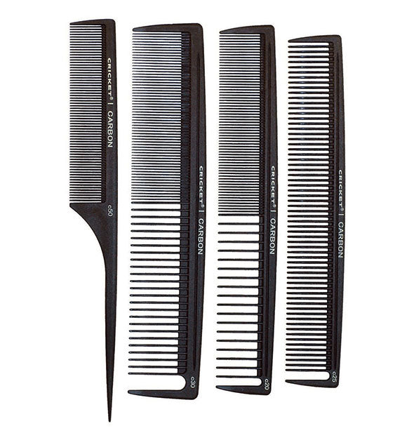 Black Carbon Comb Stylist 4 Pack