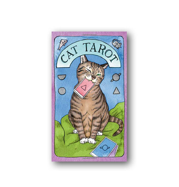 Cover of the Cat Tarot card pack