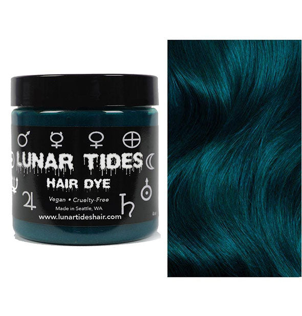semi permanent hair dye in cerulean sea