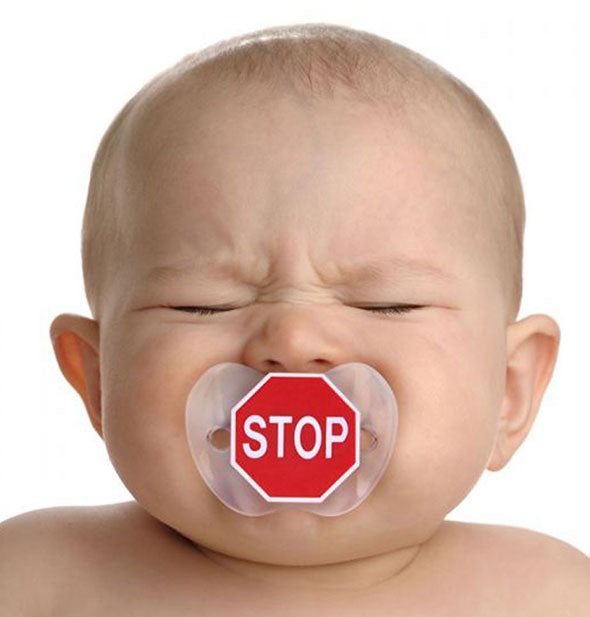 Fred - Chill Baby Stop Sign Pacifier (4460834160710)