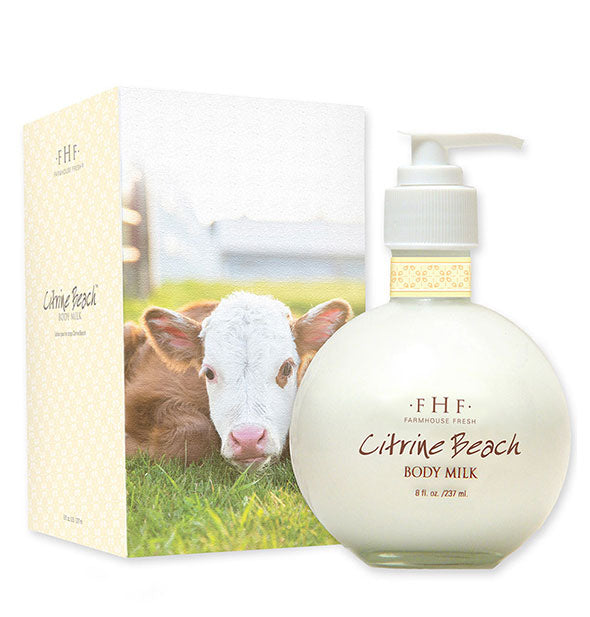 Citrine Beach Body Milk Lotion