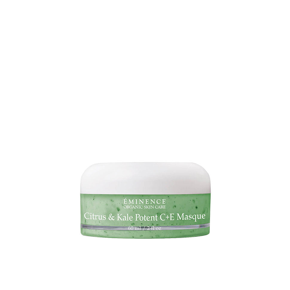 Citrus And Kale Potent C+E Masque