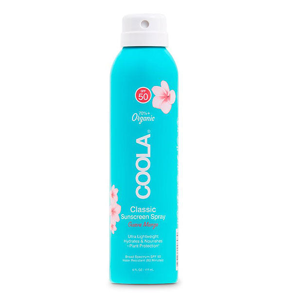 Bottle of COOLA Classic Sunscreen Spray