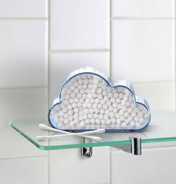 Fred - Cloud Catcher Cotton Swab Holder (4520754413638)