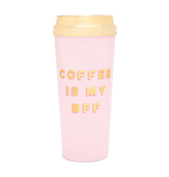 ban.do - Deluxe Hot Stuff Thermal Mug: Coffee Is My BFF