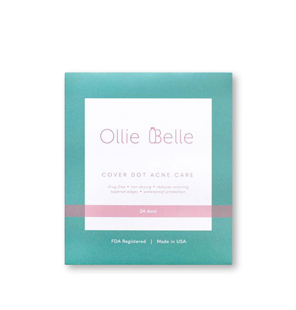 Pack of 24 Ollie Belle Cover Dot Acne Care patches