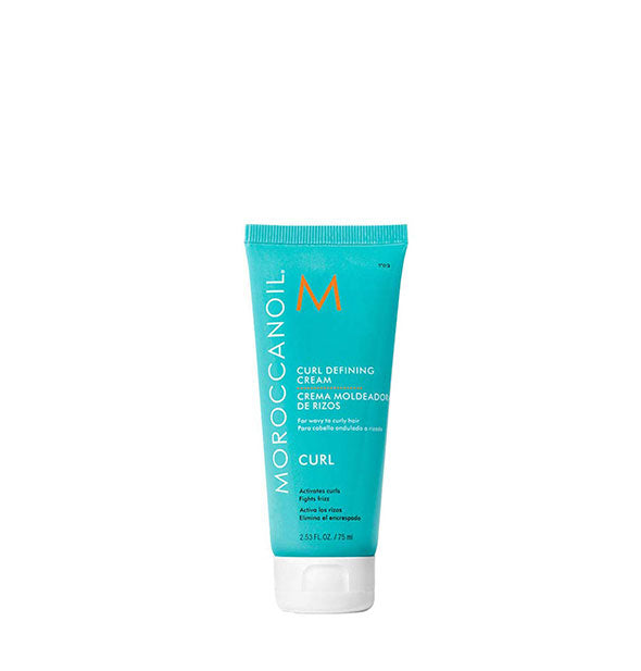 2.53 ounce bottle of Moroccanoil Curl Defining Cream