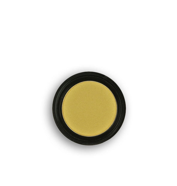 Light chartreuse pressed powder eyeshadow
