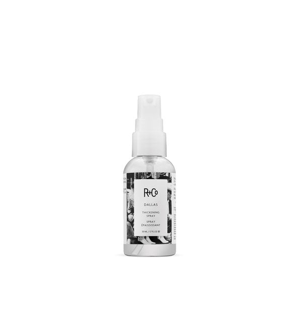 1.7 ounce bottle of R+Co Dallas Thickening Spray
