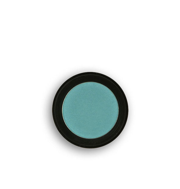 Teal pressed powder eyeshadow