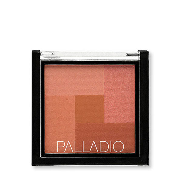 A compact of Palladio 2-in-2 Mosaic Powder in the shade Desert Rose.