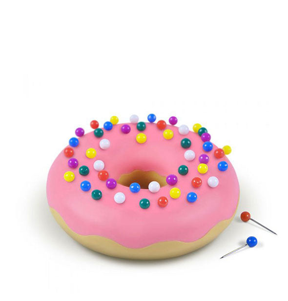 Fred - Desk Donut: Pushpins And Holder (4460796149830)