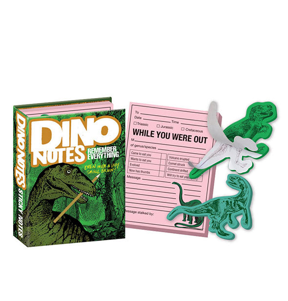 Dino Sticky Notes Remember Everything in various shapes and sizes
