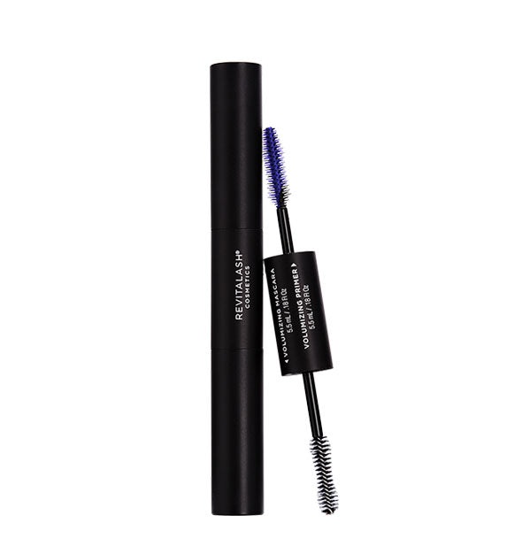 RevitaLash Double Ended Volume Set showing spoolie brush heads for both Primer and Mascara.