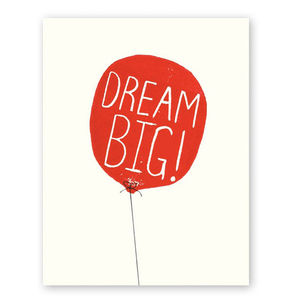 The Found - Dream Big Red Balloon Card (4460637716550)