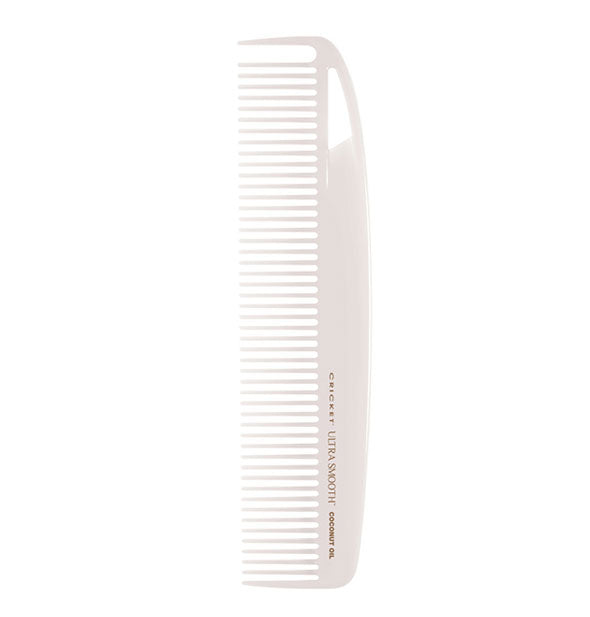 White Ultra Smooth Coconut Oil Comb Dressing