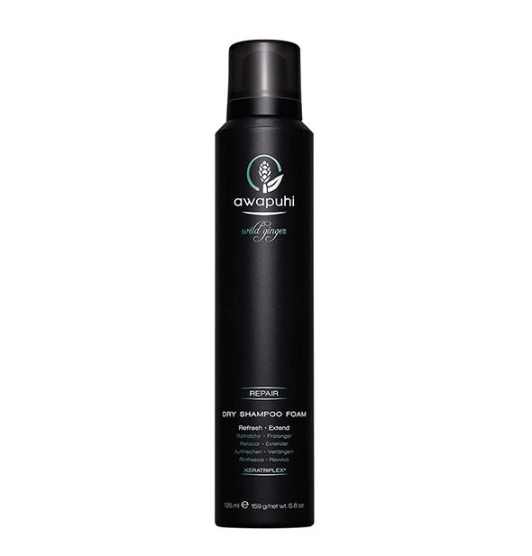 Paul Mitchell Awapuhi Wild Ginger Dry Shampoo Foam to refresh and extend